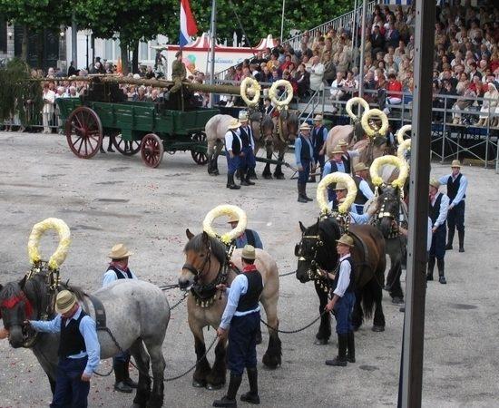 Paardenparade Heiligdomsvaart